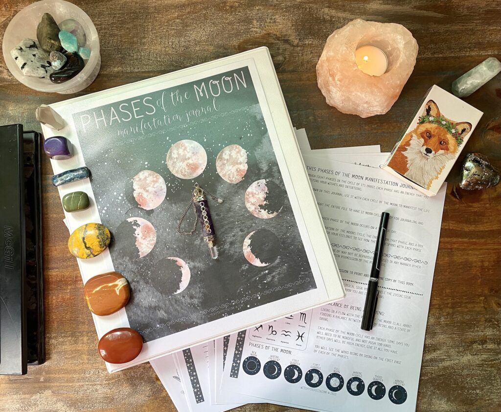 3ring-cover-moon-journal-flat